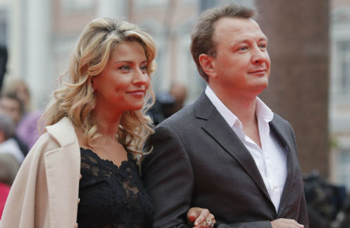 Марат и Екатерина  выглядели идеальной парой