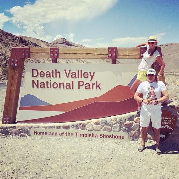 Дибровы в Долине смерти