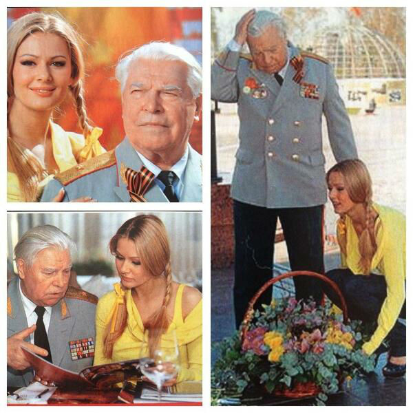 Актриса вместе с дедушкой Валентином Николаевичем