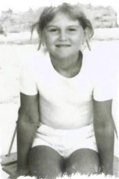 Наталья Бантеева в детстве