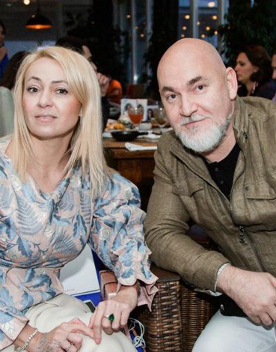 Яна Рудковская и Сергей Кожевников