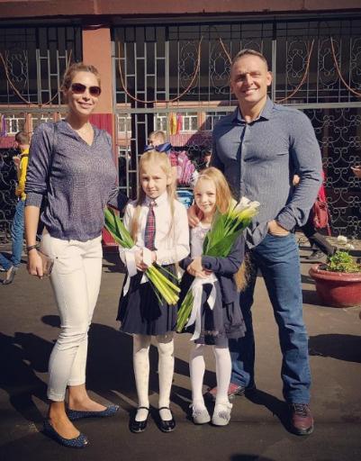 Аскольд Запашный с семьей