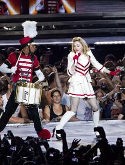 Мадонна на концерте в Израиле
