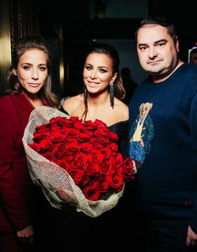 Ани Лорак с Юлией Барановской и Артем Сорокин