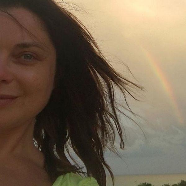 Наташа Королева на одном из пляжей США