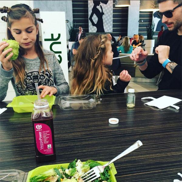 Возлюбленный Анны Сергей Гуман отлично ладит с ее дочками Алиной и Моникой
