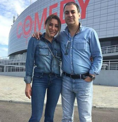 Гарик Мартиросян и его жена Жанна