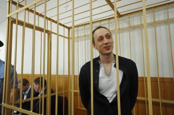 Павел Дмитриченко во время судебного процесса