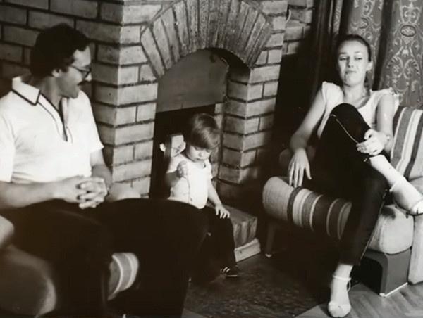Наталья с мужем и сыном Дмитрием