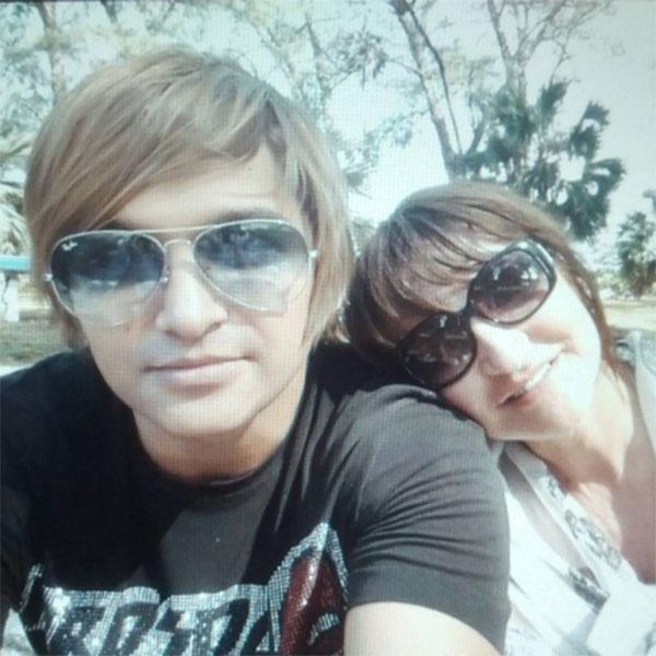 Тима Брик и его мама Ирина Шевченко