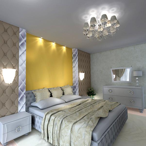 Юля хотела, чтобы в спальне было много света
