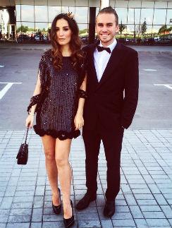 Виктория Дайнеко с мужем Дмитрием Клейманом
