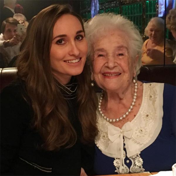 Анастасия Винокур с бабушкой Анной Юльевной