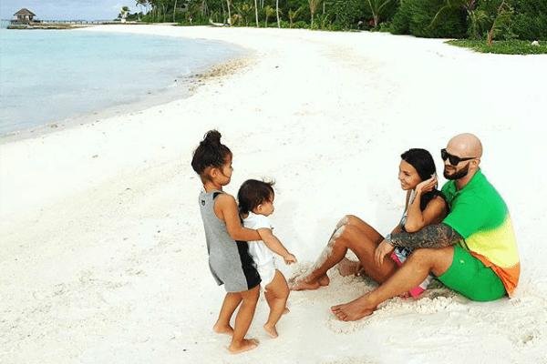 Рэпер старается как можно чаще устраивать совместный отпуск с семьей