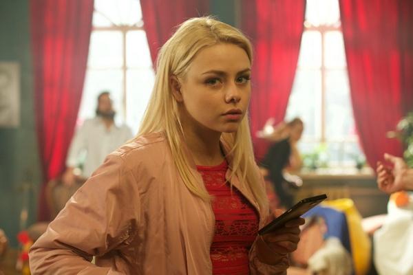 В сериале ТНТ Анастасия сыграла роль дочери актрисы железногорского театра