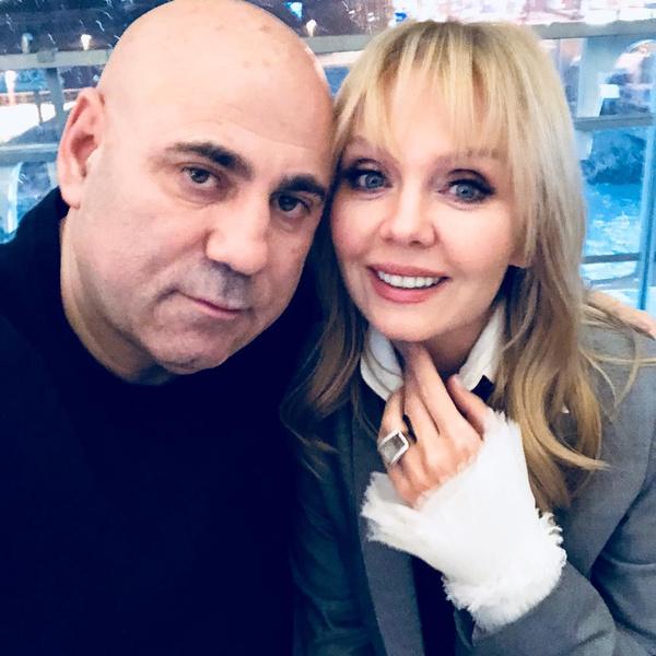 Пригожин с женой, певицей Валерией