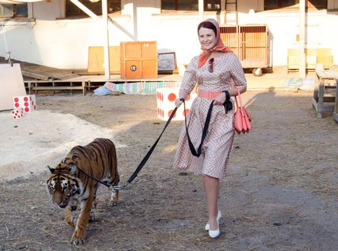 Ольга Пиманова уже восемь лет как укрощает тигров