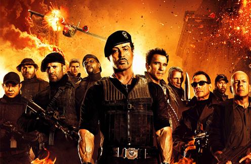 Постер фильма объединил всех главных героев боевиков