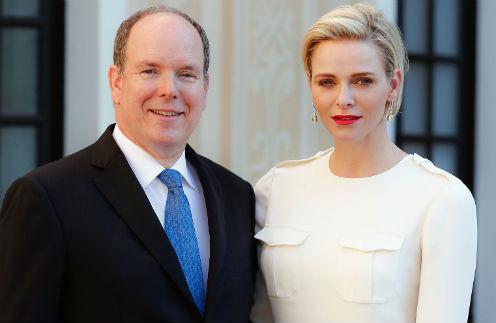 Князь Альбер и княгиня Шарлен
