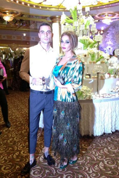 Алена Водонаева с новым возлюбленным
