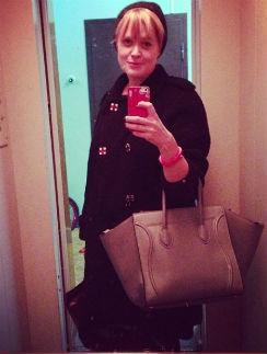 Анна Михалкова и ее первый лифтолук