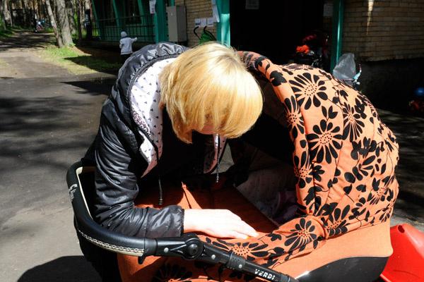 Татьяна из Луганска спокойна, ведь теперь ее дети, внуки и зять в безопасности