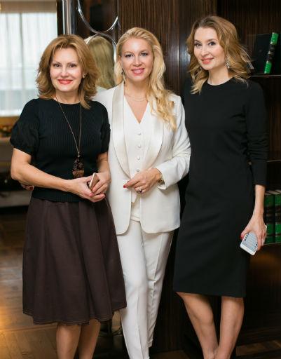 Елена Старостина, Екатерина Одинцова и Елена Смирнова