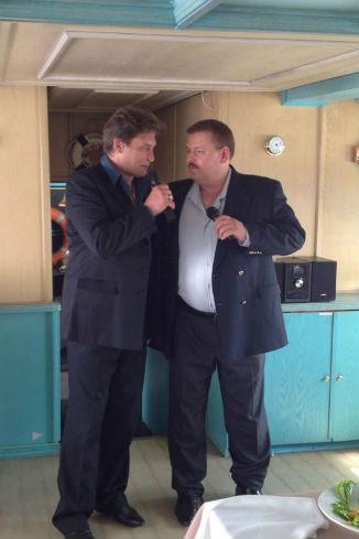 Александр Домогаров и Юрий Кузенецов-Таежный