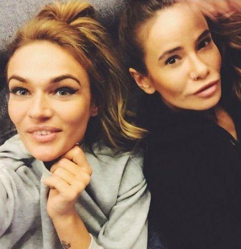 Алена Водонаева и Айза Долматова