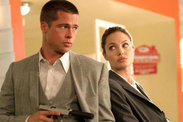 Актеры познакомились на съемках фильма «Мистер и миссис Смит»