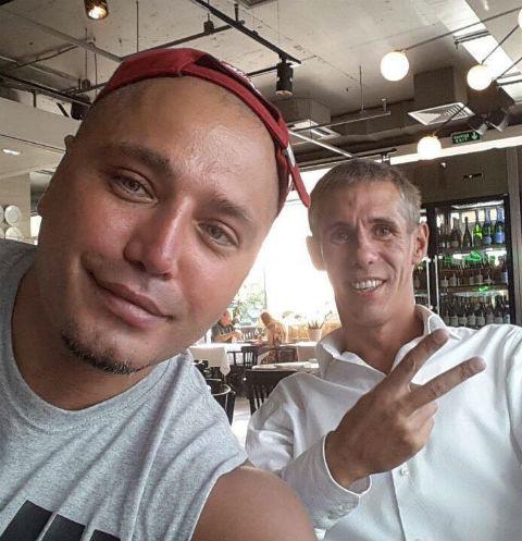 Рустам Солнцев и Алексей Панин