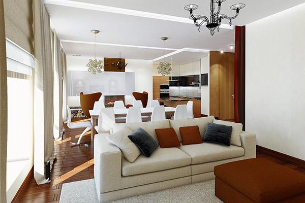 Интерьер дома Эдгарда будет оформлен в классическом стиле