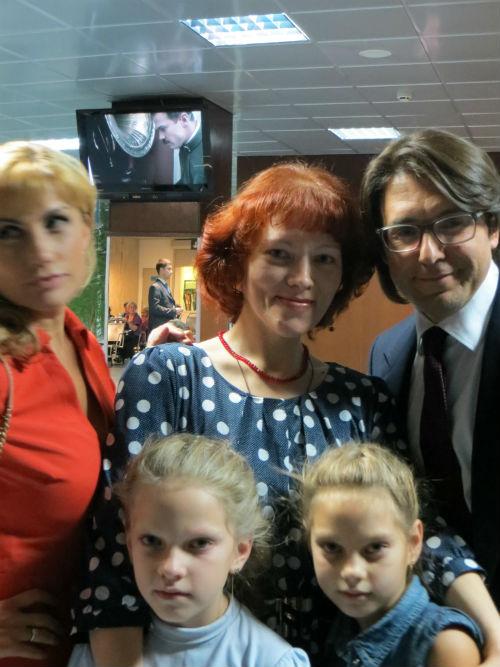 С семьей Марины   Графовой из Вологды Эмма теперь на связи