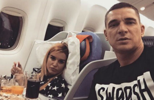 Ксения Бородина и Курбан Омаров улетели на острова