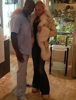 Анастасия Волочкова со своим любимым массажистом