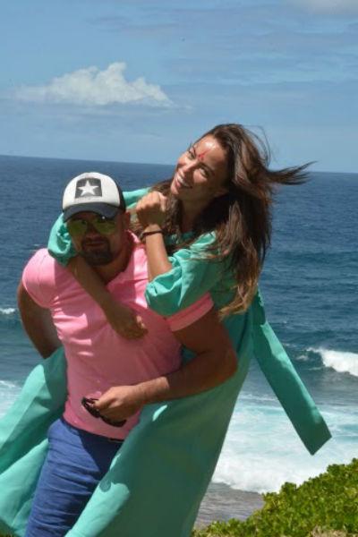 Молодожены провели медовый месяй на острове Маврикий