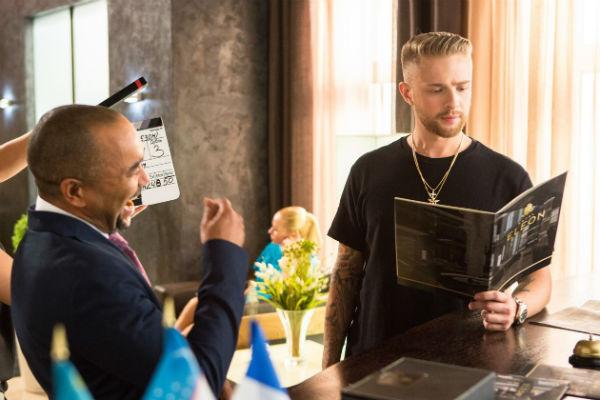 Егор снялся в эпизодической роли гостя на свадьбе, где исполнил новый трек «Не могу»