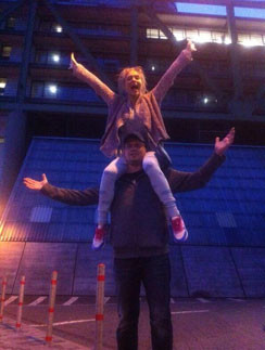 Гарик Харламов и Кристина Асмус на отдыхе в Европе
