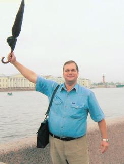 Феликс Мальцев уже более 22 лет работает гидом в одном из московских турагентств для иностранцев