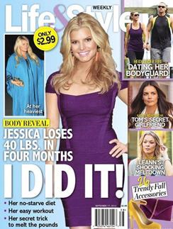 Скандальная обложка с «похудевшей» Джессикой