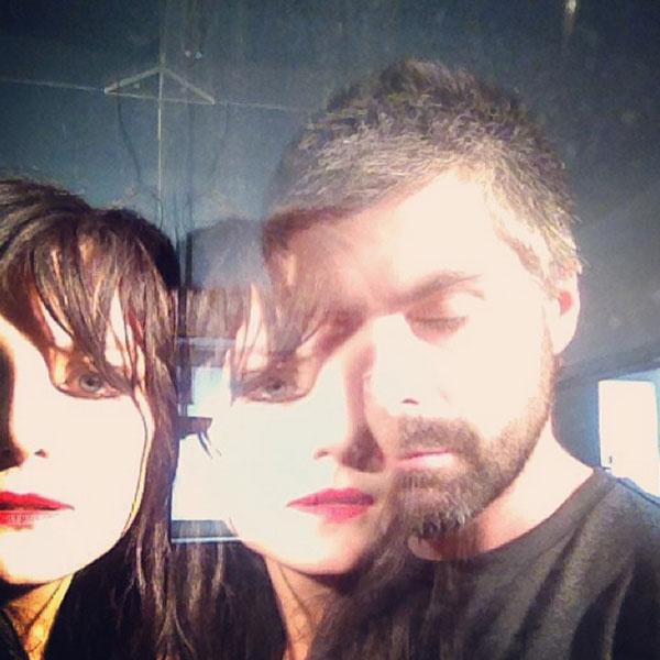 Рената Литвинова с фотографом Дмитрием Исхаковым