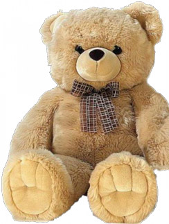 Плюшевый медведь Гарри (1500 руб.) сделан в Корее и соответствует всем современным экологическим стандартам.
