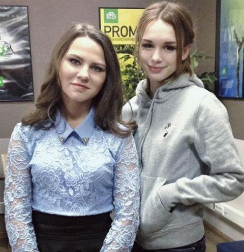 Ксения Смирнова и Диана Шурыгина