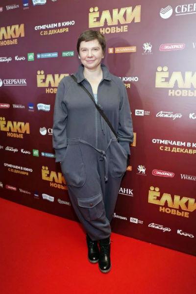 Ирина на премьере фильма
