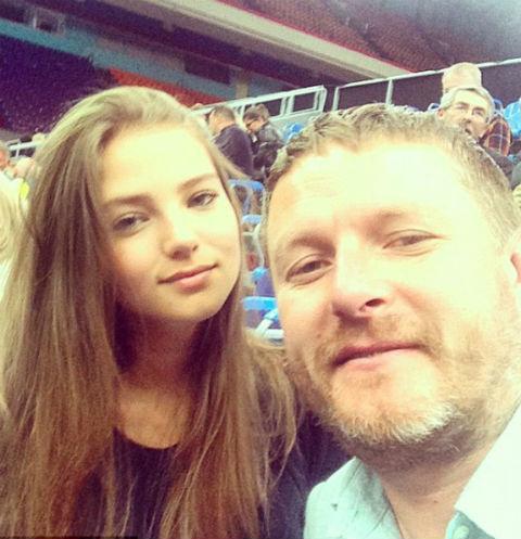 Алеся и Евгений Кафельниковы