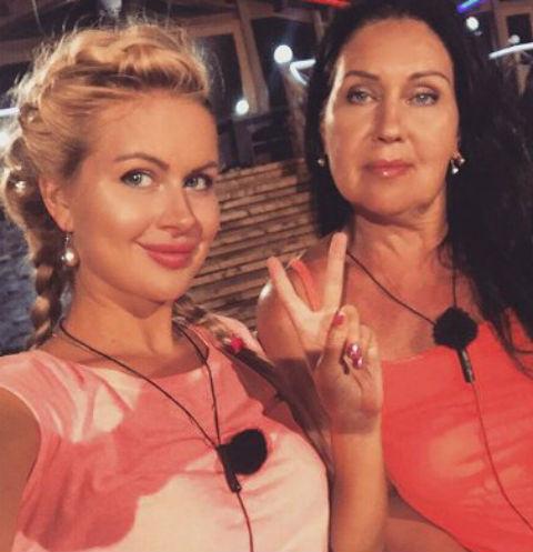 Марина Африкантова с мамой Татьяной Владимировной