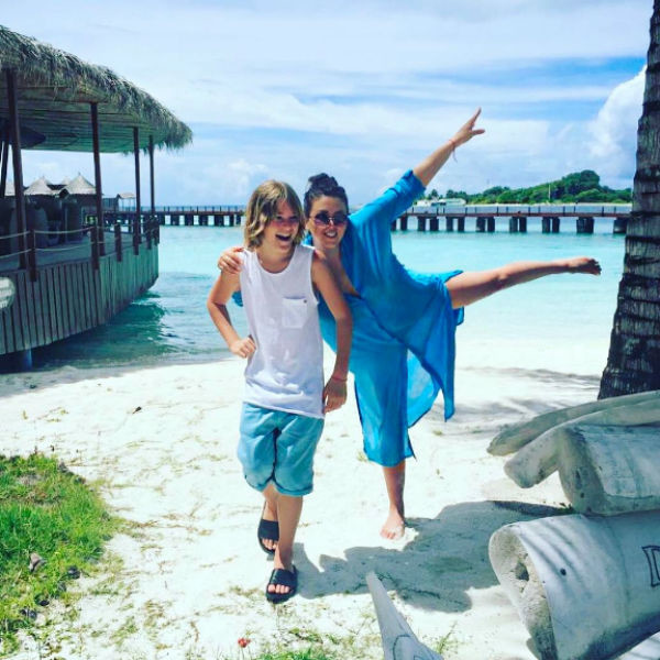 Семейство часто отдыхает на Мальдивах