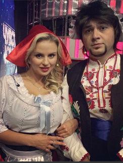 Анна Семенович и Алексей Чумаков в образе