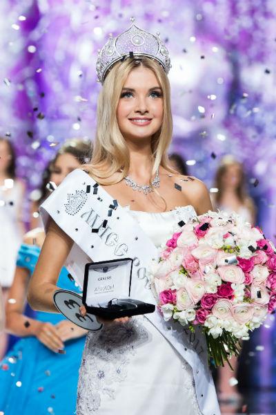 Теперь Полина будет представлять Россию на международных конкурсах