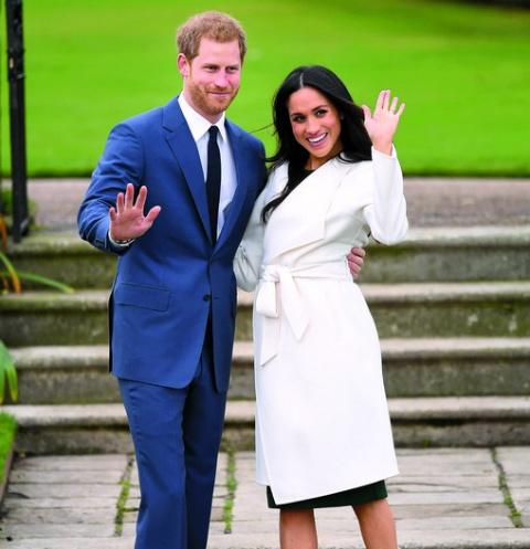 Принц Гарри и Меган Маркл. Бракосочетание пары состоится в мае, после рождения третьего ребенка Кейт и Уильяма.